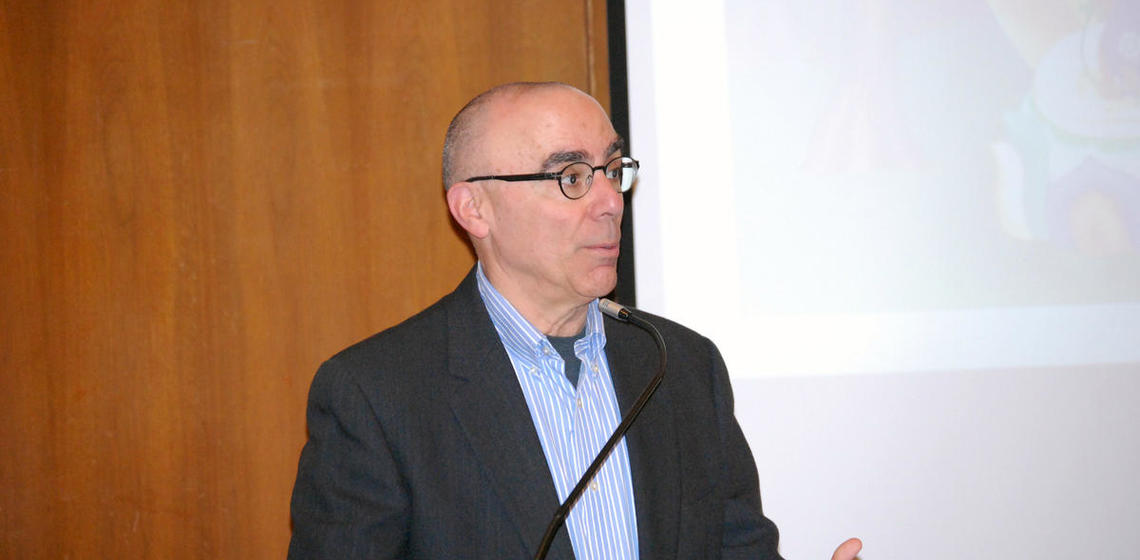 Robert Sharf provided an introduction to the days events